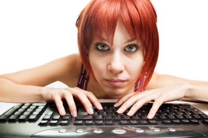 Online Dating-süchtige Online Dating-Expertin